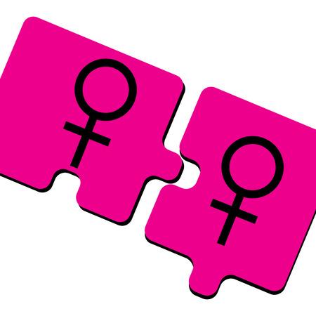 Pink Ladies Stock Vector - 5667990