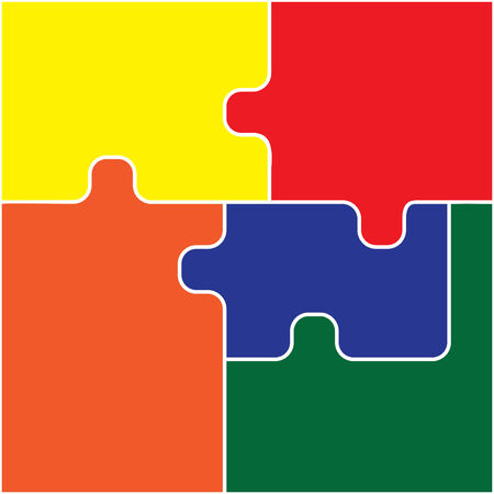 Puzzle Ilustração
