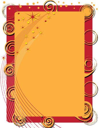 star background: Spirals and Fireworks