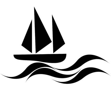 Sailboat Ilustração