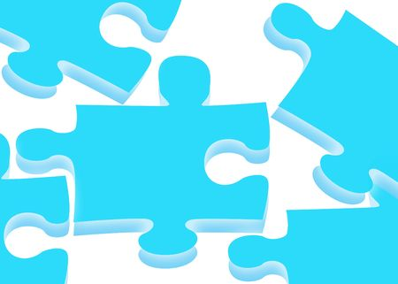 puzzling: Puzzling Abstract Stock Photo