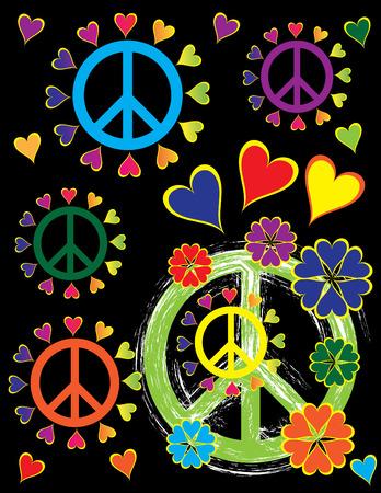 Peace Pride Ilustrace