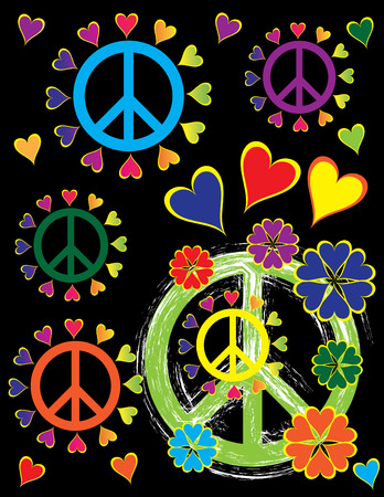 Peace Pride Stock Illustratie