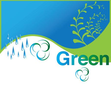 Green Reklamní fotografie - 6377529