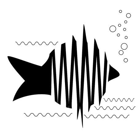 Skeleton Fish Stock Vector - 6397677