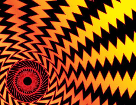 dizzy: Dizzy Red Eye Illustration