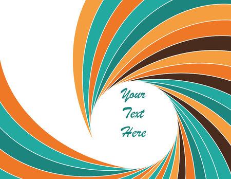 twist: Turquoise Twist Illustration