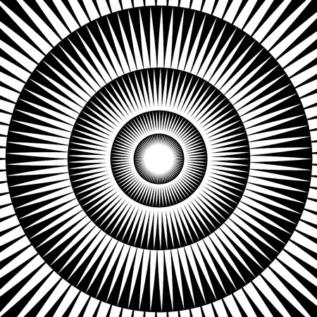 optical illusion: Hypnotica Illustration