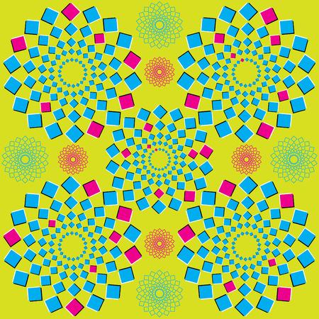 spin: Circle Squares
