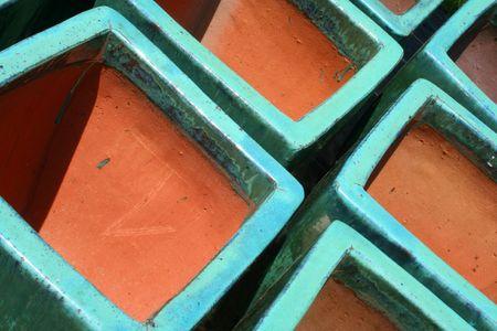 terra: Glazed Terra Cotta Pots