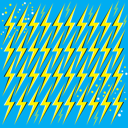 bolt: Bolts from the Blue (motion illusion) Illustration