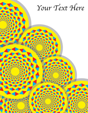 Spin Diamond Circus (motion illusion)