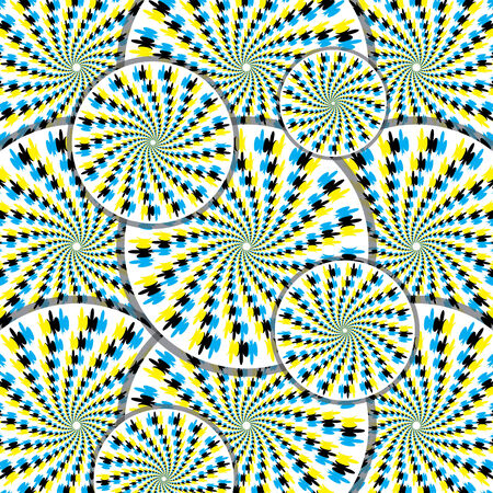 Dizzy Disco (motion illusion) Stock Vector - 7510512