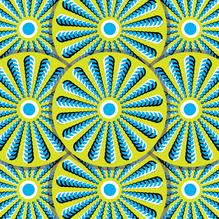 Winking Wheels (motion illusion) Stock Vector - 7620715