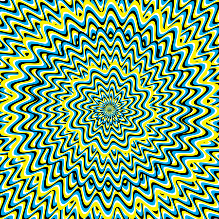 Hypnosis  (motion illusion) Vector