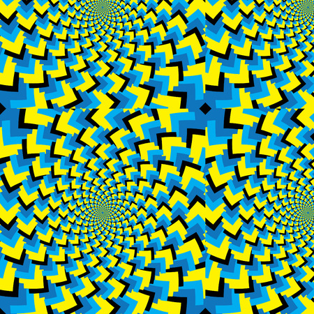Disoriented  (motion illusion)