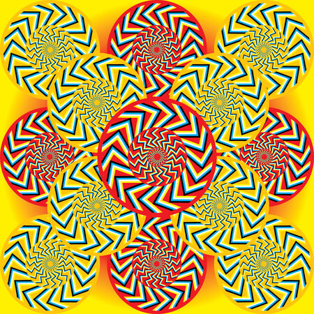 spin: Tribal Spin  (motion illusion)