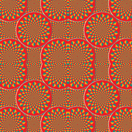 spin: Floral Spin Pattern  (motion illusion)