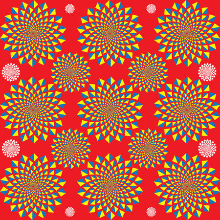 spinning: Motion Commotion  (motion illusion) Illustration