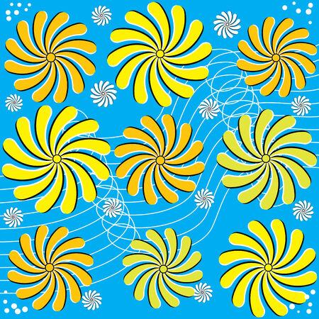 Wild Flowers  (motion illusion)