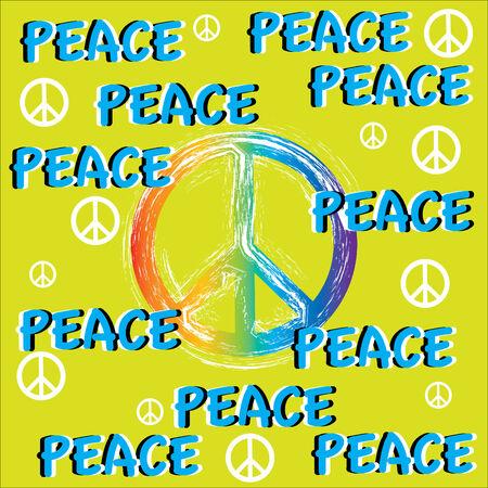 Movimientos de paz (ilusión de movimiento)  Foto de archivo - 7855984