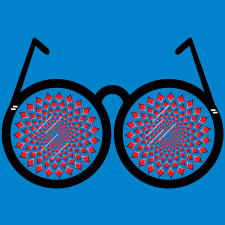 バラ色のメガネ (静止画)