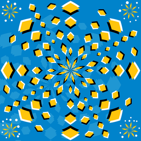 Petal Popper  (motion illusion)