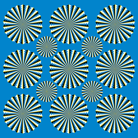 spin: Scintillating Spinners   (motion illusion)