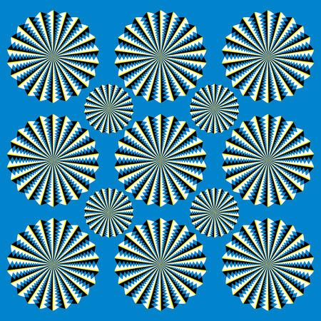 scintillating: Scintillating Spinners   (motion illusion)