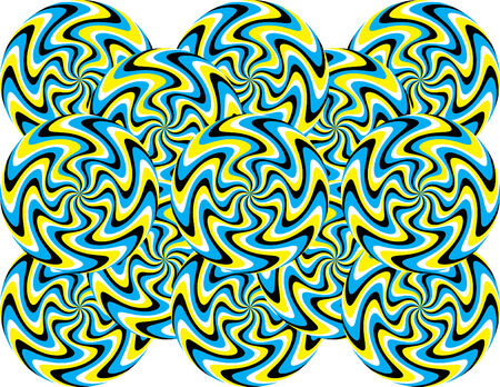 mania: Mystic Marbles Mania  (motion illusion--horizontal format)