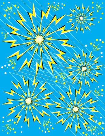 expanding: Sparks (ilusi�n de movimiento)