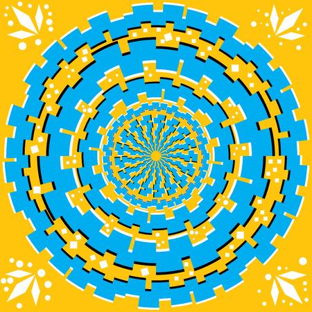 spin: Focus  (motion illusion)