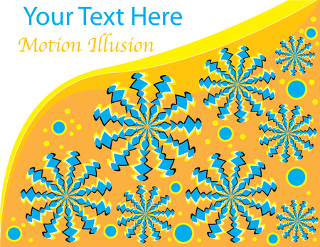 Spin Stars Presentation  (motion illusion)