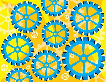 tornitura: Tornitura Blue (illusione di movimento)