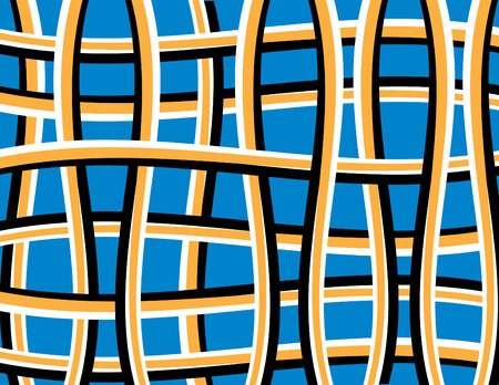 Weaver Deceiver  (motion illusion) Stock Vector - 8263739