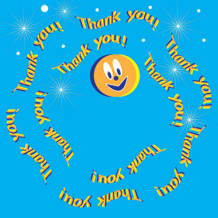 Thank You! Stock Vector - 8614981
