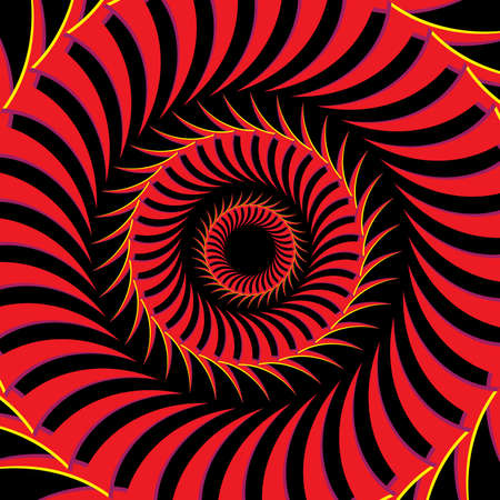 Fiery Eye Vector