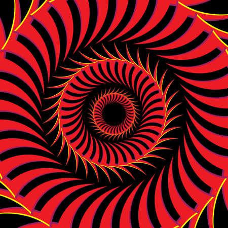 circles pattern: Fiery Eye