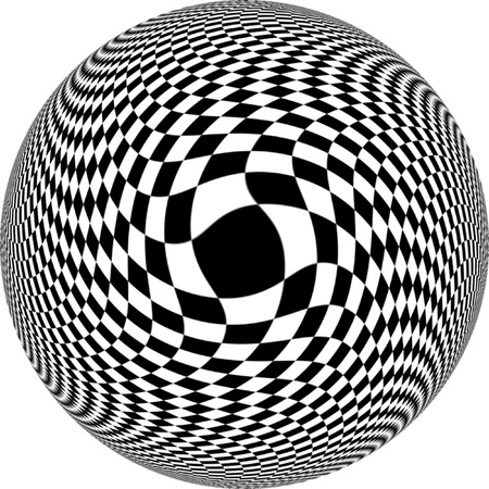 sphere: Illusion Sphere Stock Photo