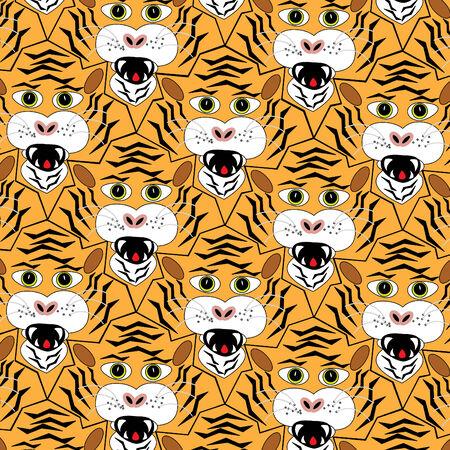 Tiger, Tiger, Tiger. . . Stock Vector - 8746196