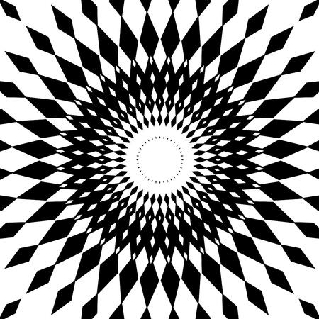 흑백 디자인 일러스트