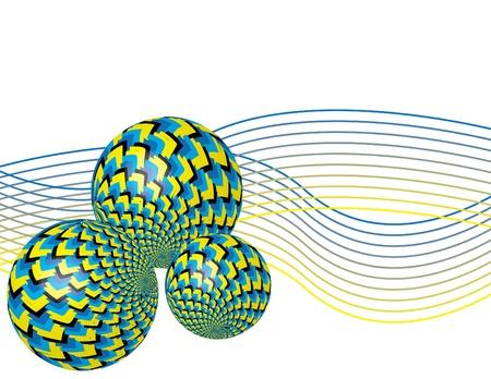 spin: Spin Balls Illustration