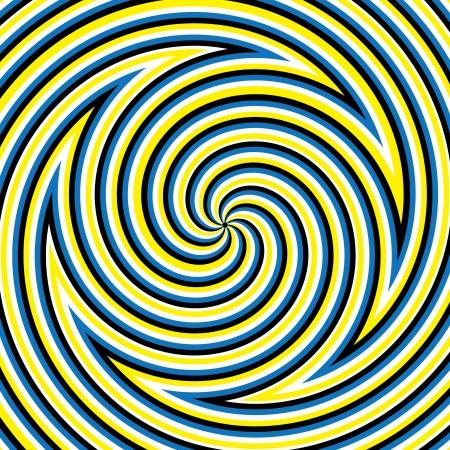 Hypnotic Maze Vector