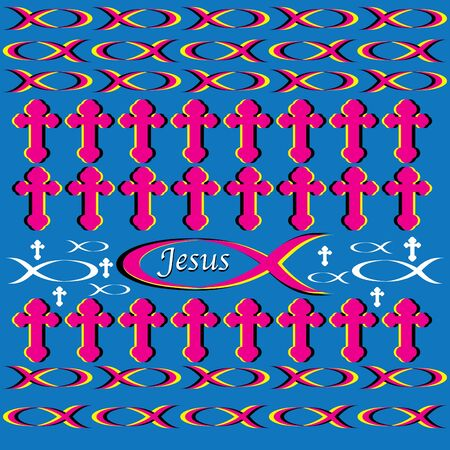 ichthus: The Jesus Poster Illustration