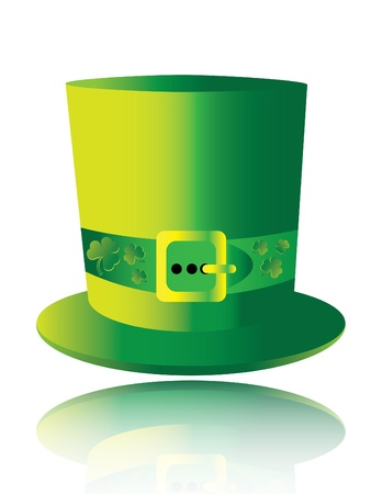 Irishmans Hat (reflected) Vector
