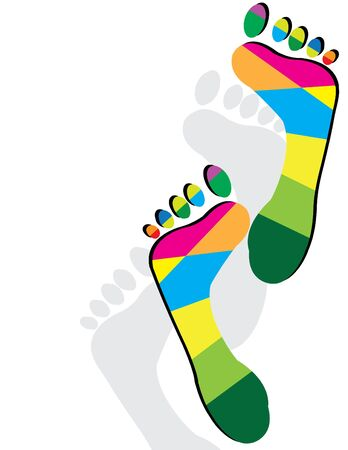Foot Fetish Illustration