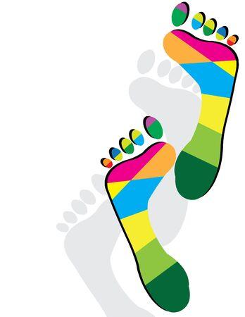 Foot Fetish 向量圖像