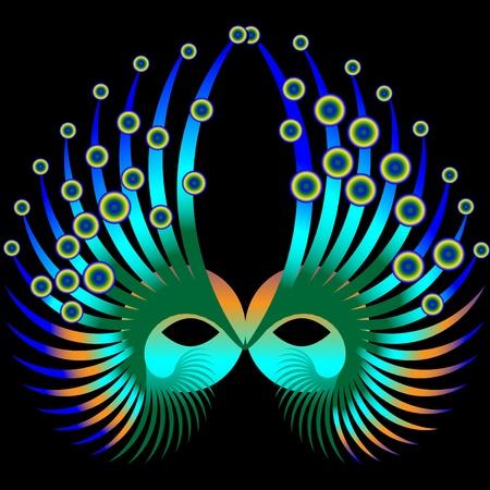 carnival mask: Mardi Gras Mask