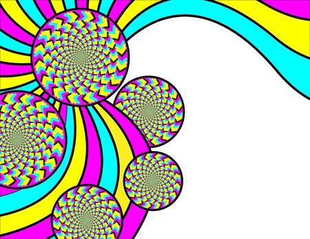 Spin Swirlies Иллюстрация