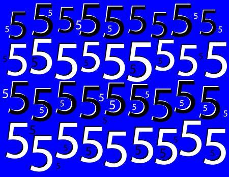 Five Alive  (motion illusion)